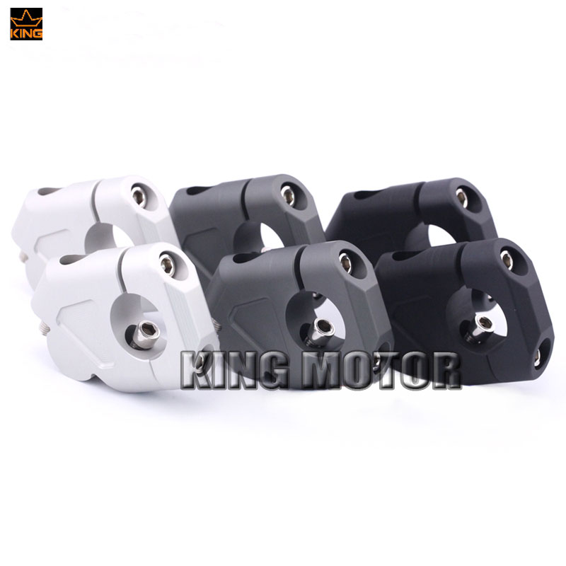 For BMW R1200GS LC 13-17/ R1200GS LC Adventure 14-17 Motorcycle Handlebar Riser Handle Bar Clamp Extend Adapter 3 Colors