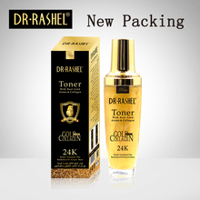 DR RASHEL Real gold atom Face Toner Mild Skin Tonic Simple Smooth Facial For Dry Oily Sensitive Combination Women