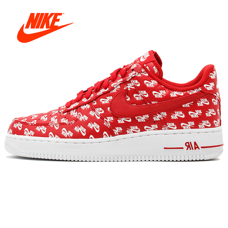 Nike Air Force 1 AF 1 Logo Men's Air Force One Original NIKE New Arrival Skateboard for Women Sneakers Comfortable Breathable