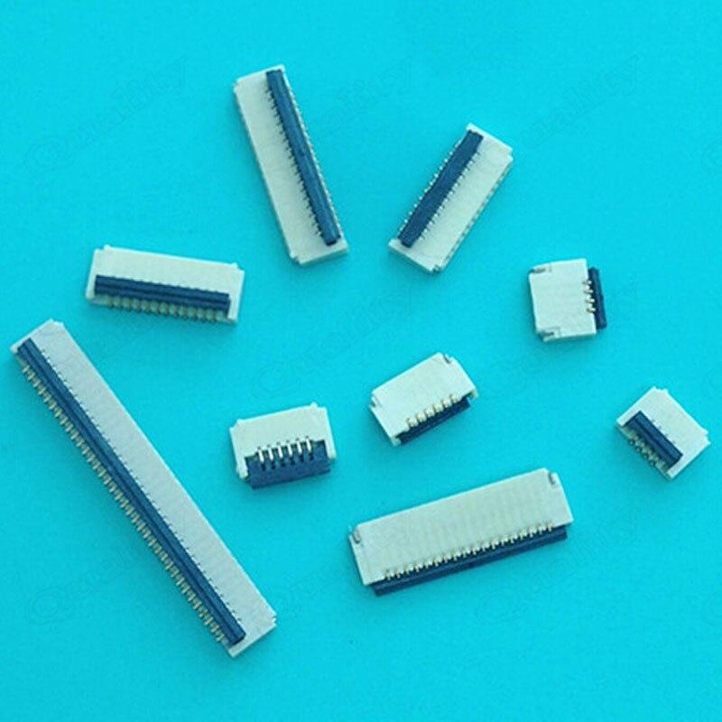 FPC / FFC LCD Socket 0.5 Pitch 6/7/8/10/12 Rear Flip Type