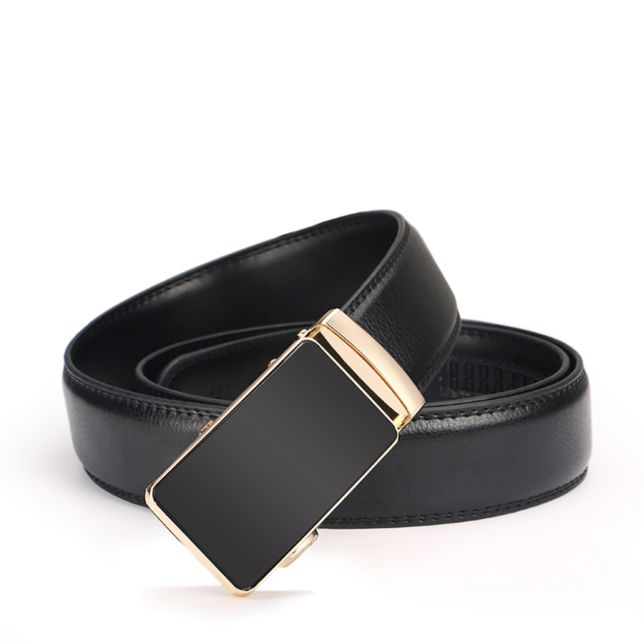 Belts Mens Belt Genuine Leather Classic Style Ceinture Top Quality Luxury Brand For Jeans Ratchet Reversible Buckle 2018 New