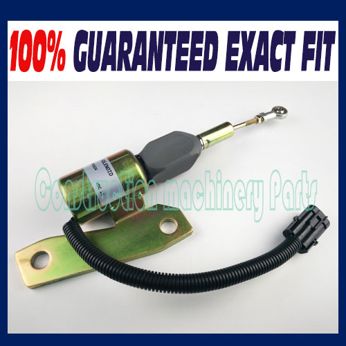 12 Volt Cummins 6BT FITS Hyundai R225-7 R220-5 Shut Down Solenoid 3991624