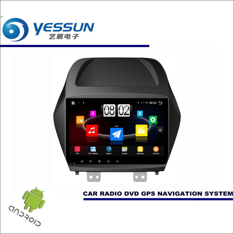 Yessun автомобиля Android мультимедийный плеер для Hyundai ix35/Tucson 2009 ~ 2015 Радио стерео GPS nav Navi (без CD DVD) 10.1 HD Экран