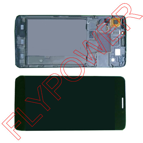 FOR TCL idol X S950 MTK6589T LCD Display Touch Screen Digitizer with frame Assembly by Free shipping;