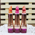 3 Colors Hot Beauty Moisturizing Lipsticks Flowers Discoloration Temperature Changes Lip Stick Professional Makeup Lip Care Z3