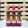 3 Cores Hot Beleza Hidratante Batons Flores Mudanças de Temperatura Descoloração Batom Maquiagem Profissional Lip Care Z3