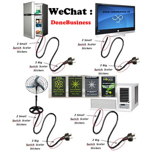 Image 3 - 100 pces emr scalar energia telefone adesivos anti radiação chip escudo saúde emp proteção emf para eletrodomésticos elétricos