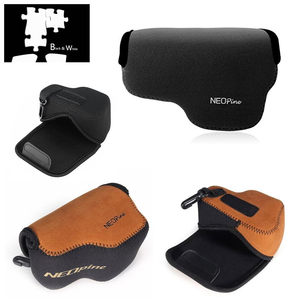 Jual Panasonic Lumix Dmc Gf9 Kit 12 32mm Brown Terbaru 2018 Gx85 Black Hitam Online Shop Neoprene Soft Inner Camera Case Bag For