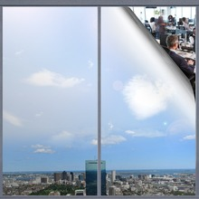 Rabbitgoo One-Way Window Film Heat Control Privacy Self-Adhesive Toning Glass Films Anti UV Removable Decorative