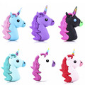 Real Portable Power Bank Battery 2600MAH Charger Unicorn Cartoon USB For Iphone 4S 5 5S 6 6S SE Xiaomi Sumsung