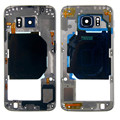 A++ Middle Frame Bezel Housing Parts with Camera Lens For Samsung Galaxy S6 G920 G920F G920A free shipping