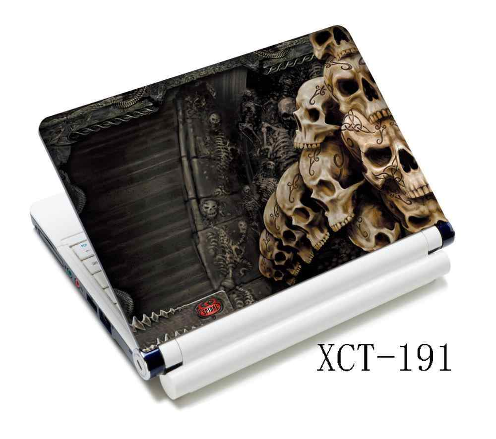 "Klassieke Schedel Laptop Decal Sticker Cover Skin Voor 12 ""13"" 14 ""15"" 15.4 ""PC Laptop PC"