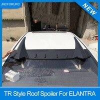 New Design Rear Window Roof Spoiler For Hyundai Elantra 2012 13 14 15 16 TR Style Roof Spoiler Wings For Elantra PP Plastic
