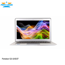 Partaker G3 Intel Dual Core I7 5600U Windows Laptops computer with 13.3 Inch