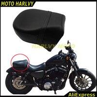 אביזרי אופנוע נוסע אחורי מושב כרית להארלי Sportster 883C 883 883N XL1200 07-15