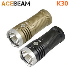 Acebeam K30 Cree XHP70.2 Led 5200 Lumen 3*18650 Batterij Zaklamp(China)