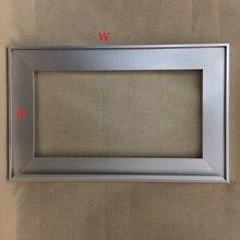 W50*H36CM Aluminum Profile Frame For Glass Door of Kitchen Closet Bath Customized