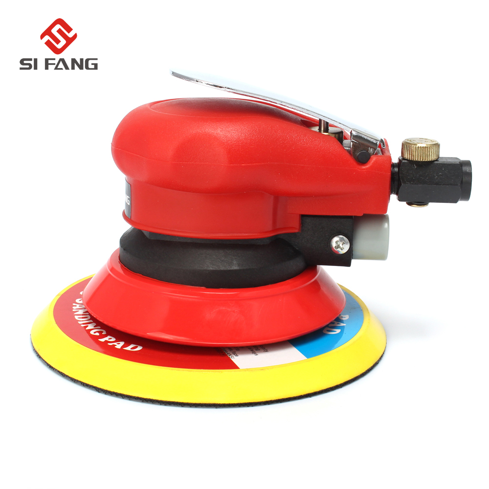 6Inch 150mm Air Sander Random Orbital Pneumatic Sander Polish Tool 6'' Air Sanding Machine Pneumatic Tools Air Tool borntun air belt sander pneumatic air belt sander 60mm 260mm sanding tool air pneumatic sanding tools orbital air polisher tools