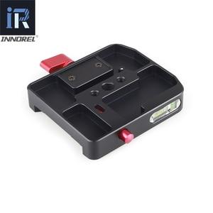 Image 3 - INNOREL amélioré tous les processus de CNC P200 II Kit de pince à dégagement rapide adaptateur de plaque QR pour Manfrotto 501 500AH 701HDV 503HDV Q5 etc.