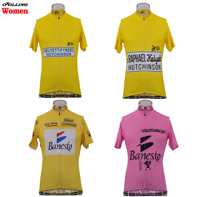 New Women RETRO CLASSICAL Maillot Team Pro Cycling Jersey Customized Road  Mountain Race Top OROLLING Multi 6c65f93a0