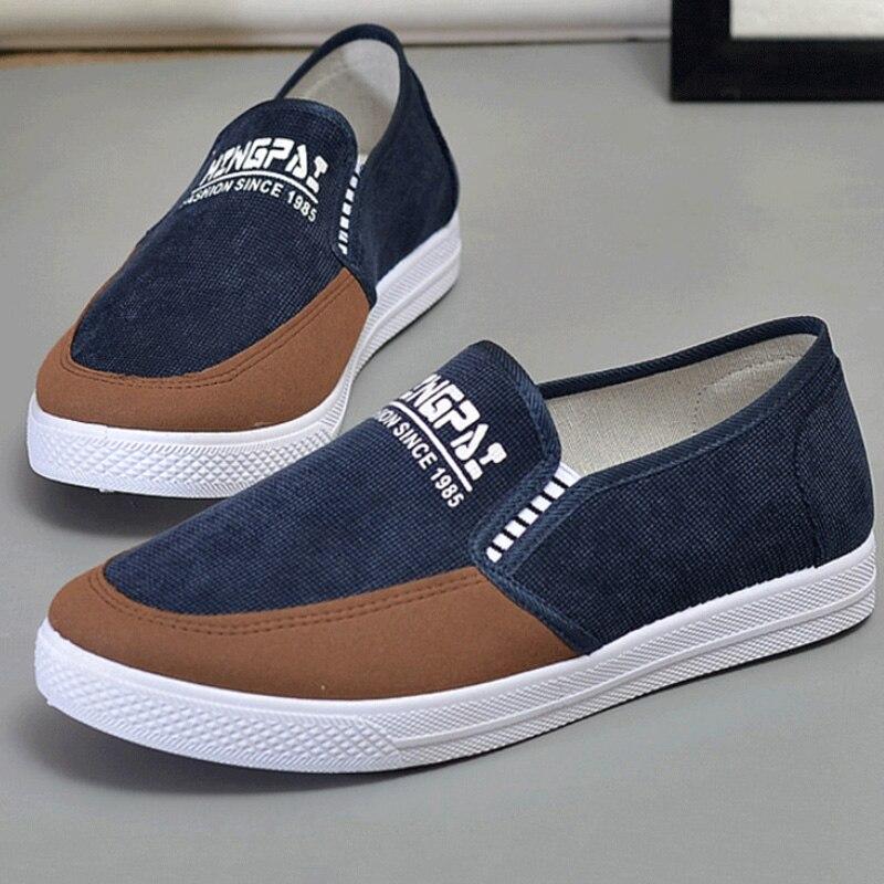 b5a5600cfc Aire Mocasines La Casuales Azul Caminando Zapatos Lona Moda Hombres brown  Conf 2019 Zapatillas De Jóvenes Adultos Los Deporte ...