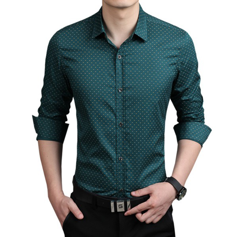 Compare Prices on Polka Dots Design Shirt Men- Online Shopping/Buy ...