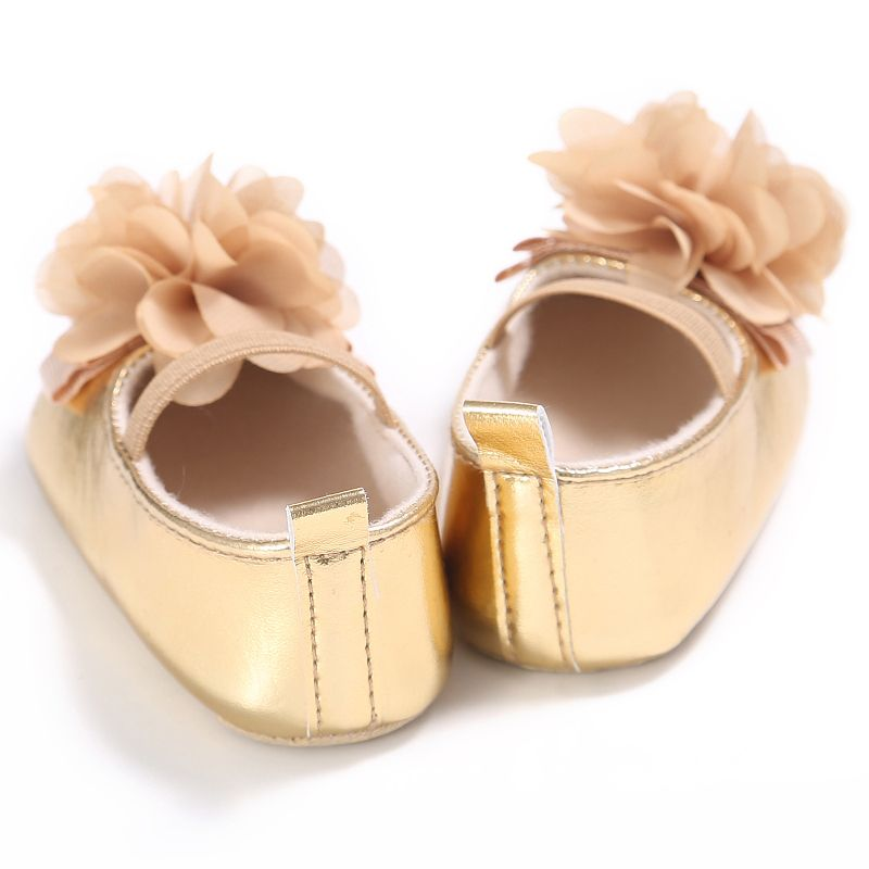 6188b72b Caliente bebé nacido Niñas infantil Patucos pu flor suave Zapatos princesa  Sneaker 0-18 m le7