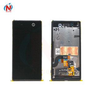 Image 2 - Für Sony Xperia M5 LCD Display + Touch Screen + Rahmen Digitizer Montage E5603 E5606 E5653 Für SONY M5 LCD ersatz Teile