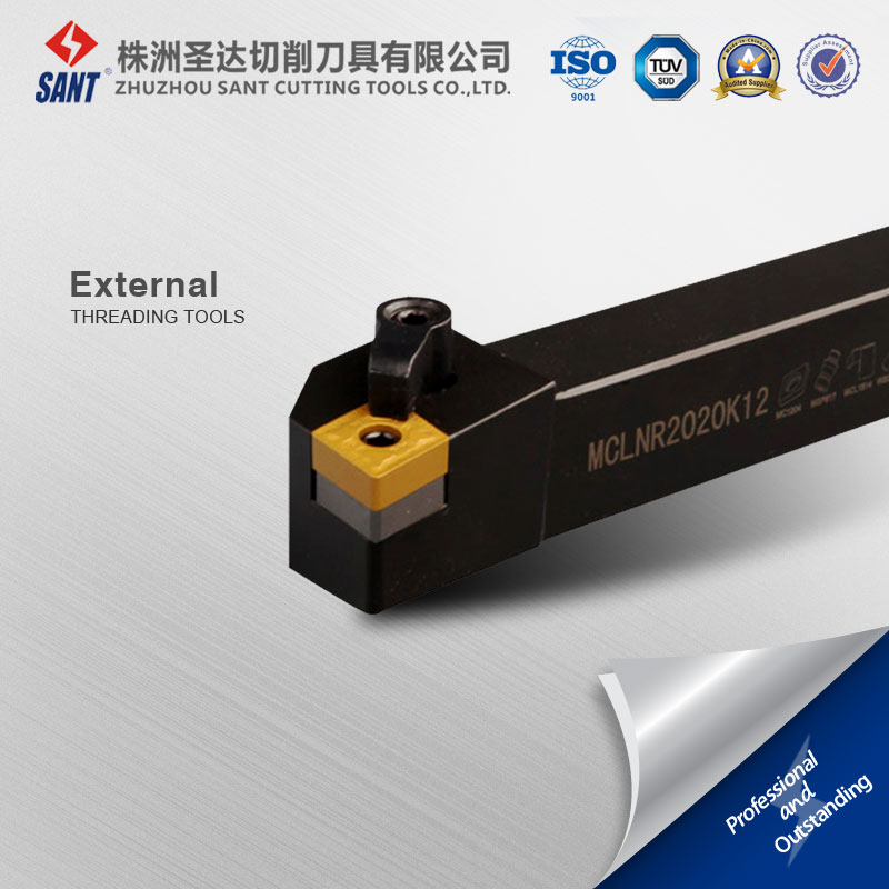 cnc cutting tools Externel Turning tool holder M type clamping MCLNR2020K12 with ISO inserts CNMG12