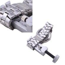 Ремкомплект полностью ссылка серебристый регулируемые контактный металлические удаления ремешок все браслет