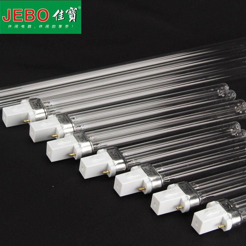 Replace UV Bulb For JEBO UV Sterilizer Light Tube Watts 2-pin G23 Base Linear Twin Tube UV-C Germicidal Ultraviolet Light Bulb