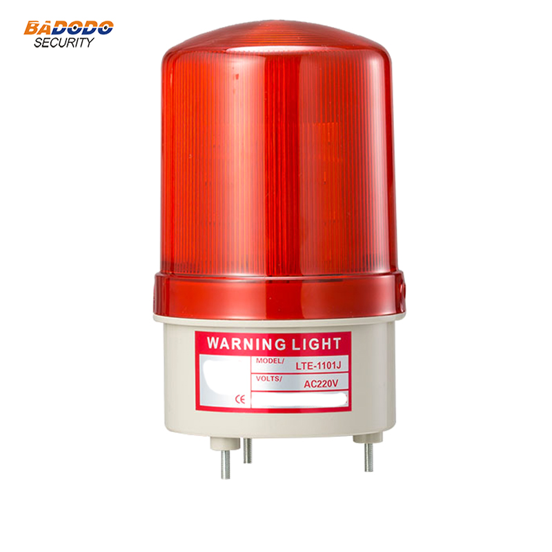 Dynamic Lpsecurity Waterproof Outdoor Led Red Rotary Wired Lamp Beacon Red Alarm Flashing Siren Strobe For Gsm Alarm System Security & Protection