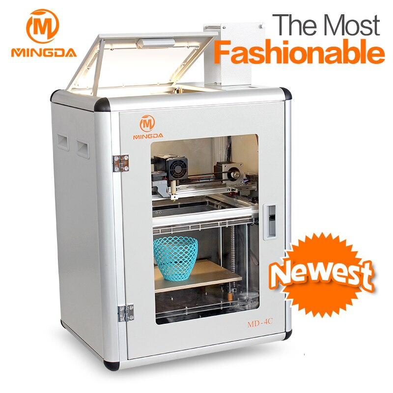 China Manufacturer Price ! MINGDA Good Quality FDM 3D Printer Machine , MD-4C nylon impresora 3d printers 300*200*200mmChina Manufacturer Price ! MINGDA Good Quality FDM 3D Printer Machine , MD-4C nylon impresora 3d printers 300*200*200mm