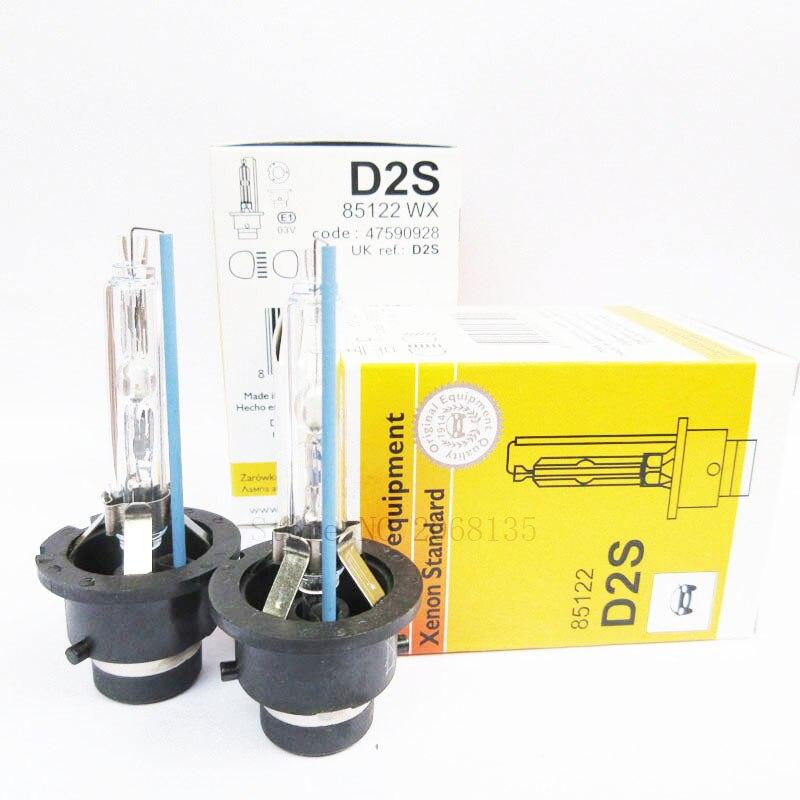 NEW 2PCS D2S/D2R/D4S/D4R/D1S/D3S 6000K 4300K 12V 35W Auto HID Xenon bulb car headlight lamp lighting