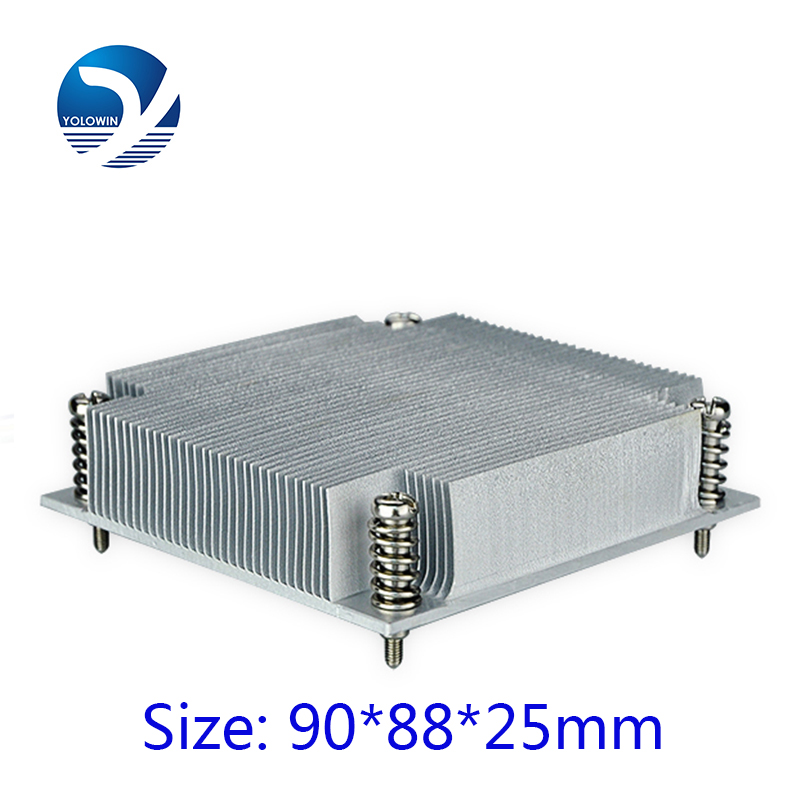 Good Thermal effect <font><b>Intel</b></font> <font><b>i7</b></font>-<font><b>2600</b></font> architecture 2U copper heatsink All aluminum relieving C5-15 image