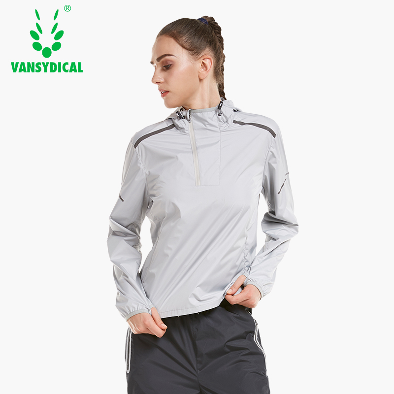 New Hot Sweat Sports Running Jackets Women's Pullovers Hooded Fitness Yoga Tops Lose Weight Slimming Sweating Sportswear