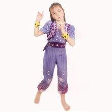 Shimmer and Shine Conjunto de vestido brillante en caja, traje de la escuela, vestuario, cosplay, traje de vestir, envío gratis