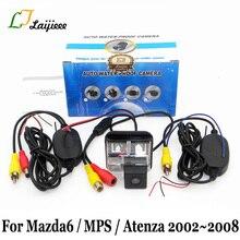 Для мазда 6, мазда 6 MPS Atenza GG GY 2002~ 2008/HD камера заднего вида ночного видения/RCA AUX Беспроводная Автомобильная камера заднего вида