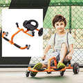 Four Wheels Foot Twister Children Swing Car Kids Twist & Go Bicycle for 2-6 Years Baby Ride on Toys Outdoor Drift Trike