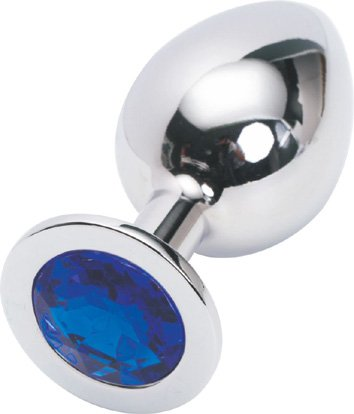 Hot Sell Metal Anal Toys Stainless Steel Plug Anal Butt Jeweled Large Medium Small butt plug Adult Producs For Gay Men Women
