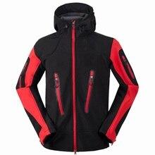 Men's Winter Fleece SoftShell Hiking Jackets Outdoor Sports Clothing Camping Trekking Skiing Waterproof Coats