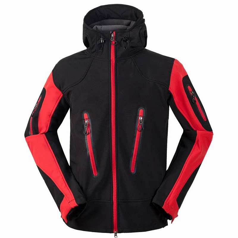 Men's Winter Fleece SoftShell Hiking Jackets Outdoor Sports Clothing Camping Trekking Skiing Waterproof Coats стоимость