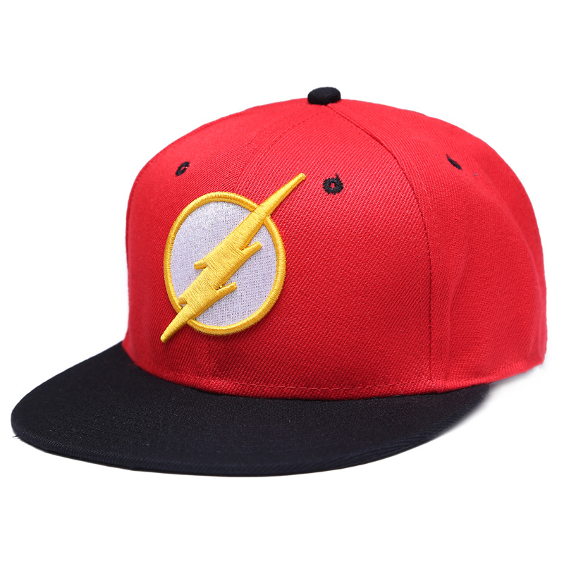 2019 New The Flash Flash Embroidered Baseball Cap Casual Popularity Not Deformed Lightning Sign Hat Hip Hop Fashion Cotton Cap