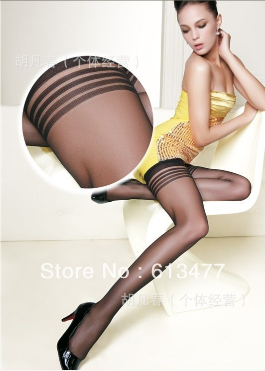 Winter women sexy tights/panty/knitting in stockings trousers panty-Summer wear thin silk stockingsD002 1pair=2pcs