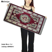 Mairuige Persian Carpet Free Shipping Locking Edge Gaming Mouse Mats Pad for PC Computer La