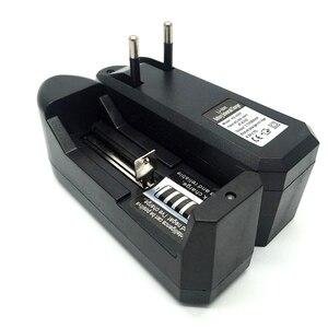 Image 4 - 18650 3.7v carregador de bateria de polímero de lítio carregador de bateria portátil única carga único slot li ion bateria inteligente carregador 0.45a
