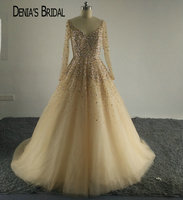 Ivanka Trump Sexy V Neck Celebrity Dress Bling Bling Bead Stones Bodice Formal Gowns