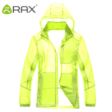 Rax Men Summer Hiking jacket waterproof Windproof Cycling Jersey Quick drying New Nylon Clothes summer sports jacket