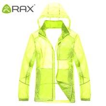Rax Men Summer Hiking jacket waterproof Windproof Cycling Jersey Quick drying New Nylon Clothes summer sports jacket