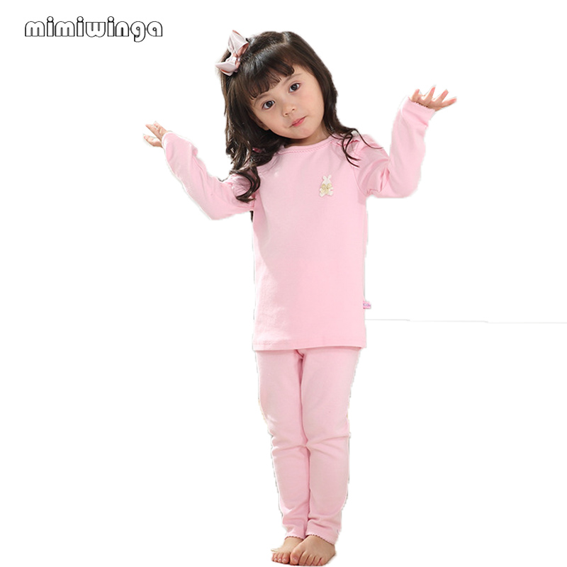 Mimiwinga Child Woman Garments Pajamas Children Garments Set Spring Cotton T Shirt & Pants 2 Items 1-5 Years Kids Clothes Clothes Units, Low cost Clothes Units, Mimiwinga Child Woman...